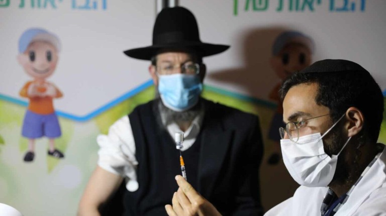 Israel nationwide COVID-19 vaccination campaign